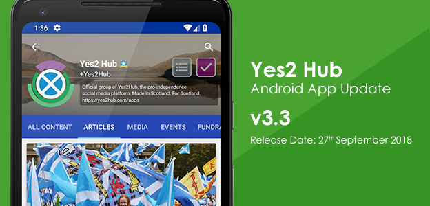 Android App v3.3 Released