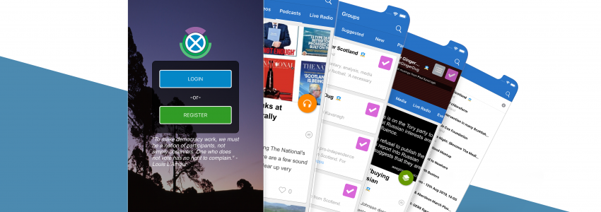 The Hub iOS App Released