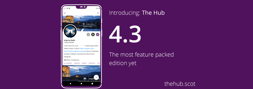 The Hub v4.3. The Best Pro-Indy App Just Got Smarter