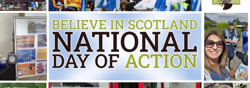 Believe In Scotland Day of Action